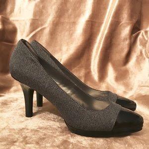 Bandolino Vine Women Round Toe Patent Leather Heel